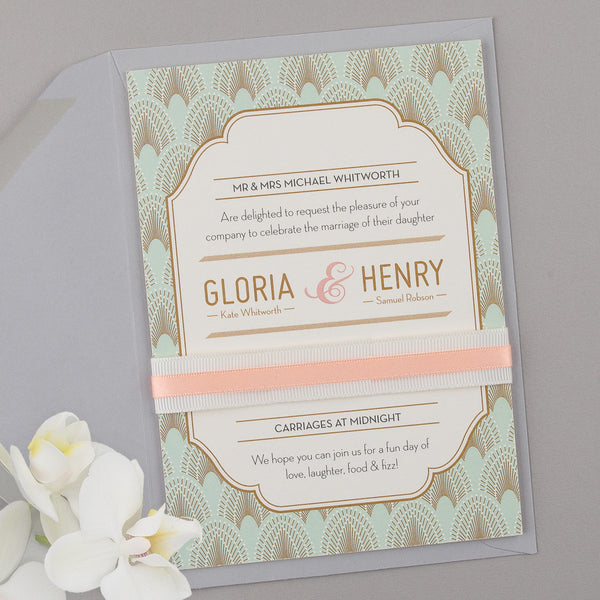 Free Sample - DECOdence Invitation in Powder Palette