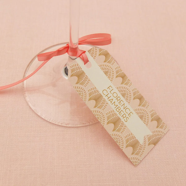DECOdence Luggage Tag Place Cards, personalised