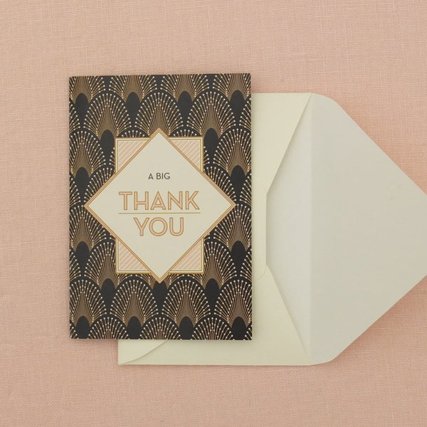 Decodence Thank You cards