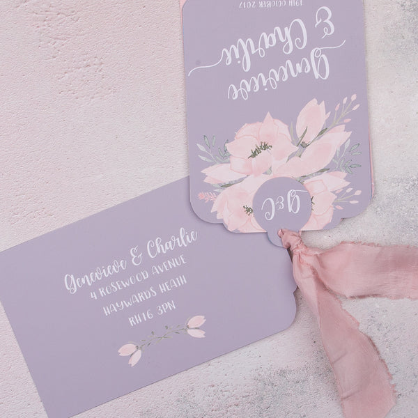 Ethereal Luxe Invitation suite