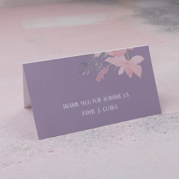 Ethereal Classic Place Cards, personalised
