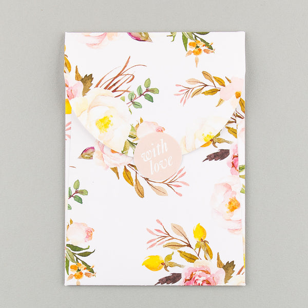 Sample - Floral Affair Luxe Invitation in Yellow