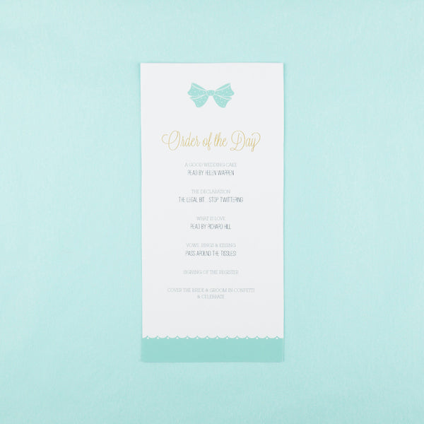Holly Golightly Slim Order of the Day in Pink & Hepburn Blue