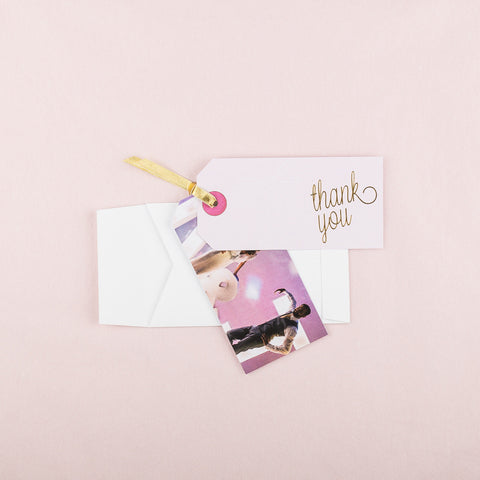 Holly Golightly Thank You Luggage Tag