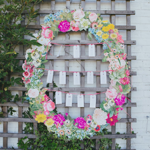 Small Floral Frame Photo Booth