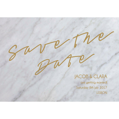 Marble Classic Save the Date