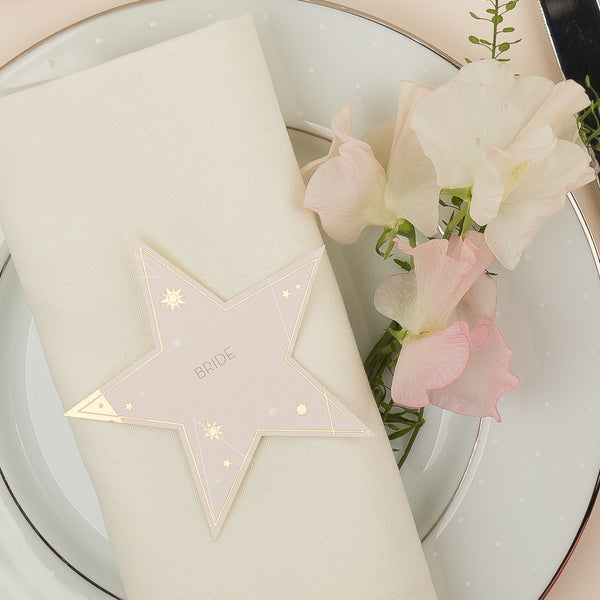 Star Place Card