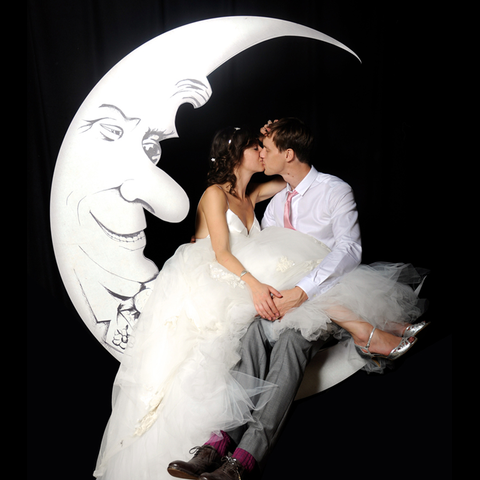 Man in the Moon Photobooth