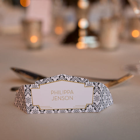 Love Lace Classic Place Cards, personalised