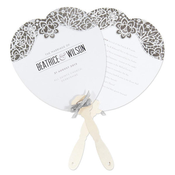 Modern Metallics Order of the Day Fan, 7 colour options