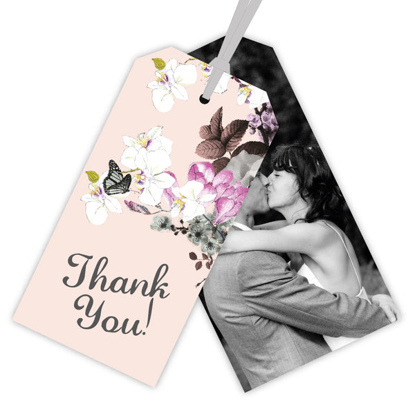 Mid Summer Thank You Luggage Tag