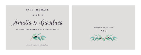 Olive Classic Save the Date