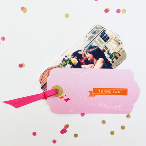 Thank You Luggage Tag Cute as Candy Jewel