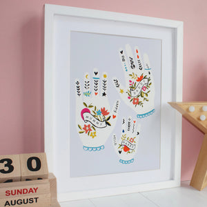 Family Hands Print