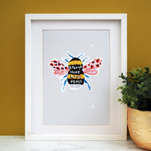 Load image into Gallery viewer, Manchester Bee Print