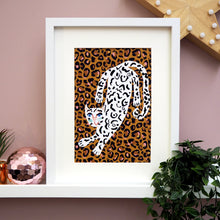 Load image into Gallery viewer, Leopard Print Snow Leopard