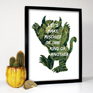 Where The Wild Things Are Print
