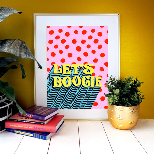 Let's Boogie Print