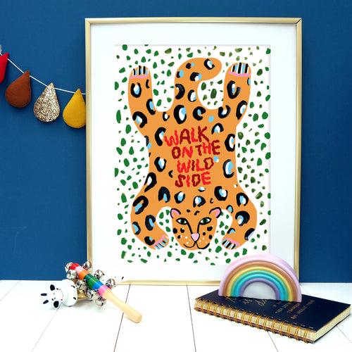 Walk On The Wild Side Print