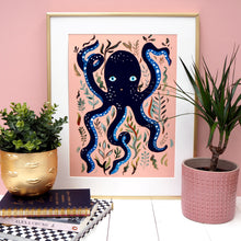 Load image into Gallery viewer, Pretty Octopus Print - Two Colour ways