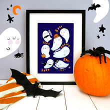 Load image into Gallery viewer, Ghost Halloween Print