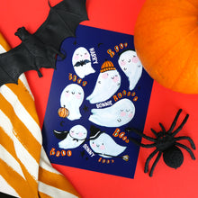 Load image into Gallery viewer, Personalised Halloween Ghost Print