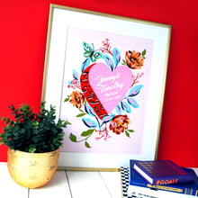 Load image into Gallery viewer, Love Is All You Need Personalised Print