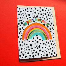 Load image into Gallery viewer, Happy Birthday Rainbow Card