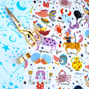 Horoscopes Gift Wrap