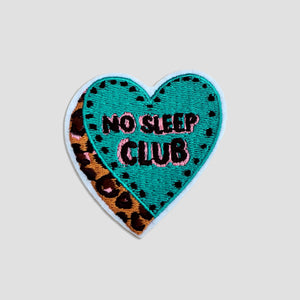 No Sleep Club Patch