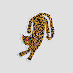 Dancing Leopard Patch