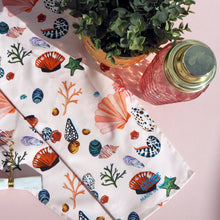 Load image into Gallery viewer, *NEW* Miami Shells Tea Towel