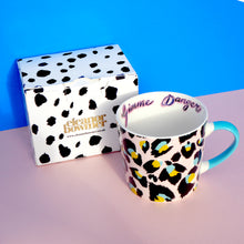 Load image into Gallery viewer, Pink Leopard Print Mug