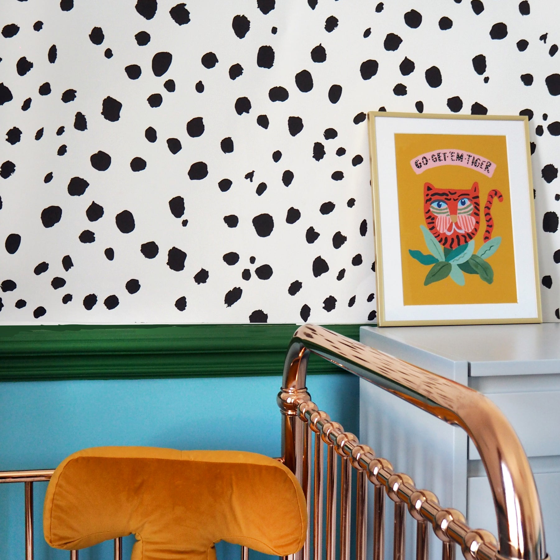 Dalmatian Dot Wallpaper Eleanor Bowmer