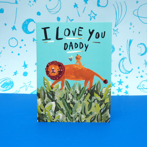 You Love Daddy Lion Cub Father's Day Card