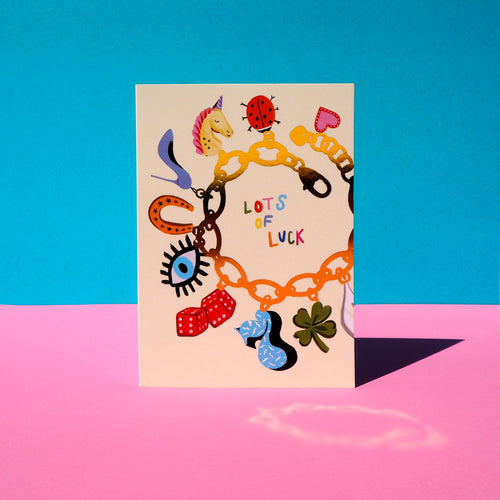 Lots of Luck Charms Card