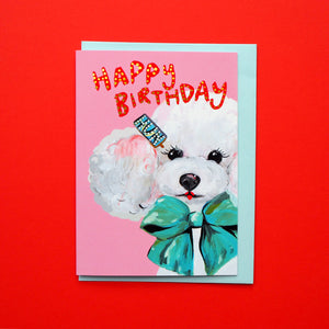 Happy Birthday Hun Card