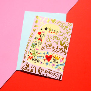 Mum Strong Arm Card
