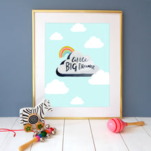 Load image into Gallery viewer, Little Big Dreamer Print