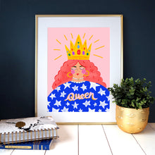 Load image into Gallery viewer, Queen Print