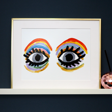 Load image into Gallery viewer, Rainbow Eyes Print