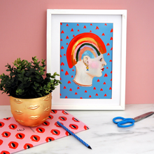 Load image into Gallery viewer, Rainbow Lady Print