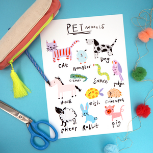 Pet Animals Print