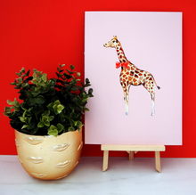 Load image into Gallery viewer, Handsome Giraffe Print