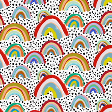 Load image into Gallery viewer, Rainbow Spot Wallpaper