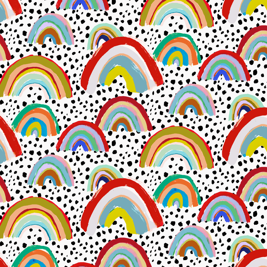 Rainbow Spot Wallpaper Sample