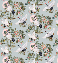 Load image into Gallery viewer, Elegant Cranes Wallpaper in Powder