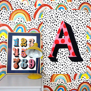 Personalised Initial Large Scale Print