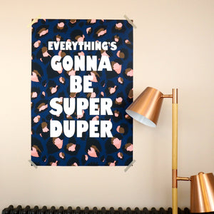 Customise Your Own Large Scale Print (Blue Leopard)