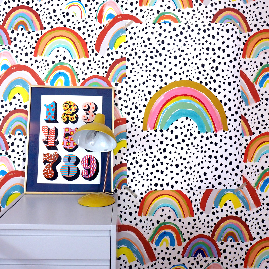 Rainbow Large Scale Print